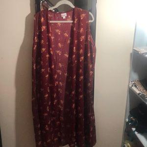 Long floral Joy vest